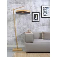 thumb-Vloerlamp PALAWAN bamboe naturel met lampenkap in 2 maten-9