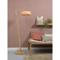 thumb-Vloerlamp PALAWAN bamboe naturel met lampenkap in 2 maten-10