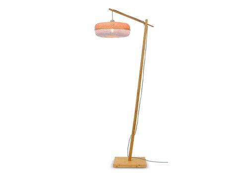 Vloerlamp Palawan bamboe naturel