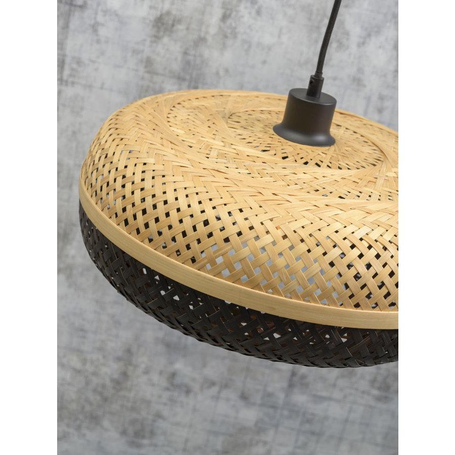 Wandlamp Palawan bamboe zwart met arm Small-7