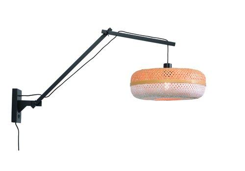 Wandlamp Palawan zwart L