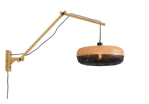 Wandlamp Palawan naturel L