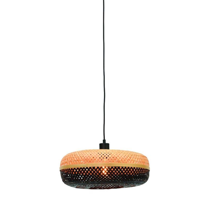 Hanglamp Palawan bamboe flat-2