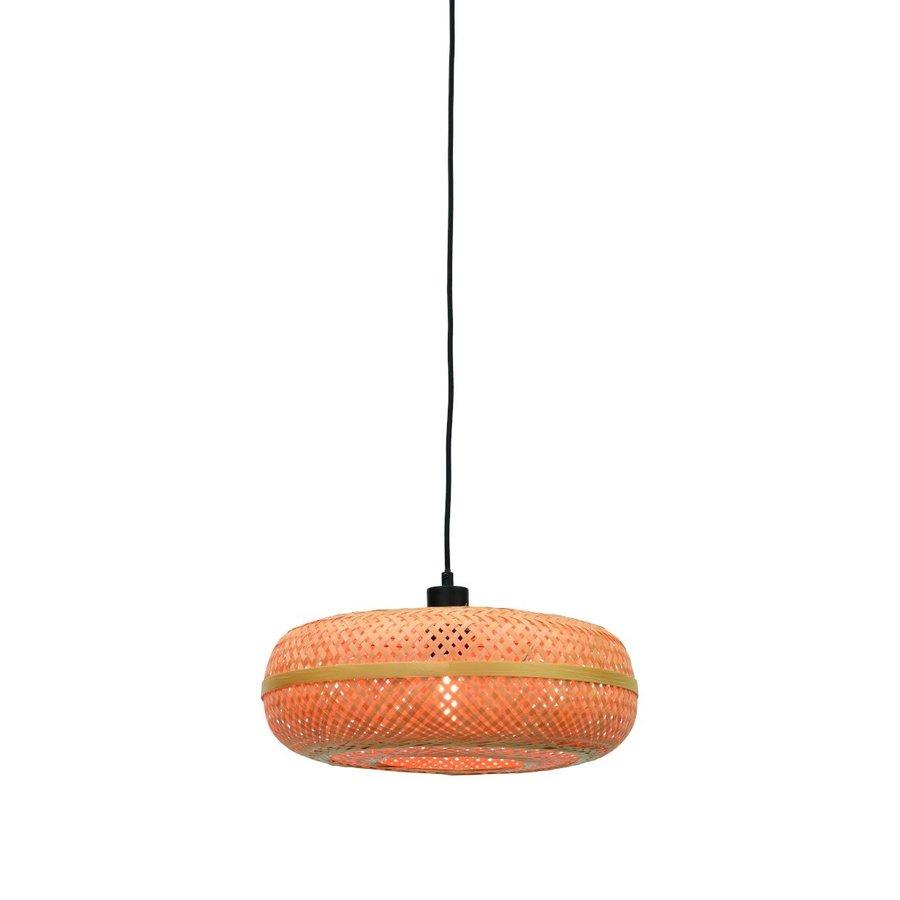 Hanglamp Palawan bamboe flat-3
