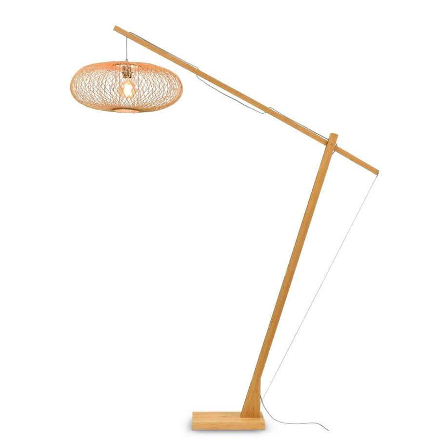 Vloerlamp CANGO bamboe verstelbaar-2