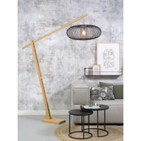 thumb-Vloerlamp CANGO bamboe verstelbaar-3