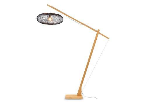 Vloerlamp Cango bamboe verstelbaar