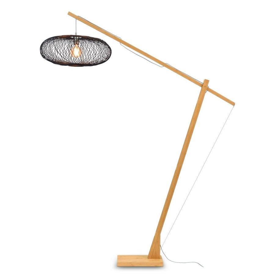 Vloerlamp CANGO bamboe verstelbaar-1