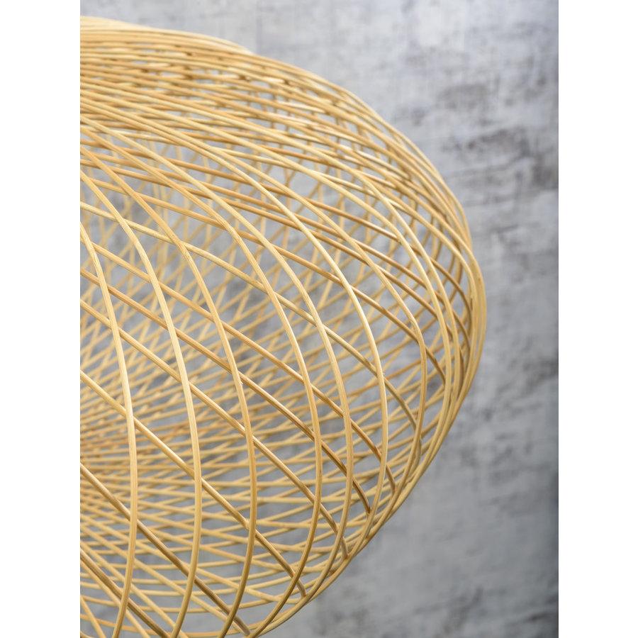 Plafonnière CANGO bamboe naturel of zwart-8