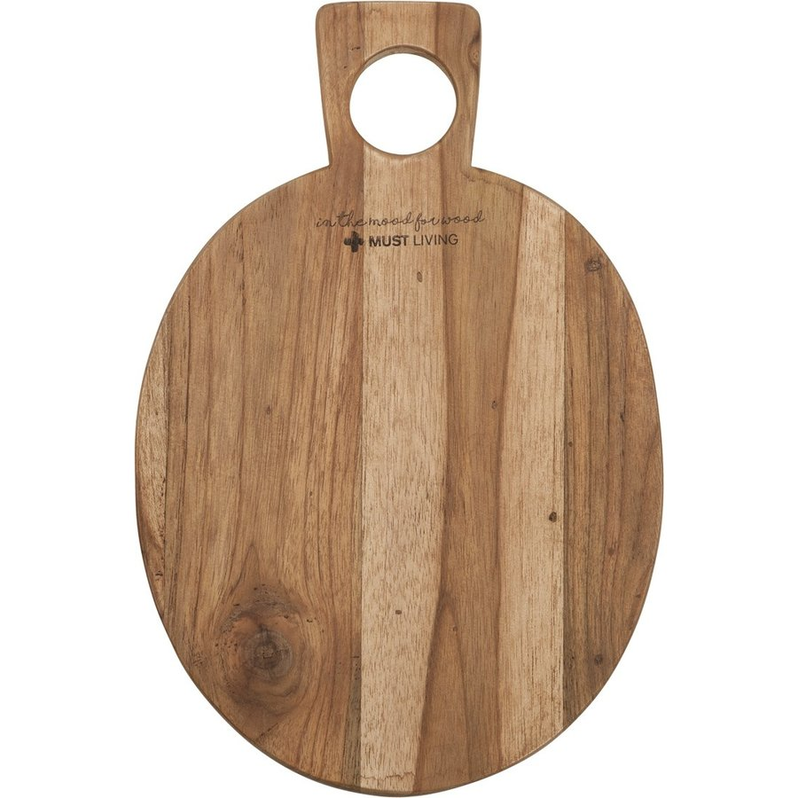 Broodplank Delicious hout rond-2