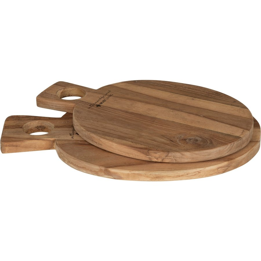 Broodplank Delicious hout rond-4