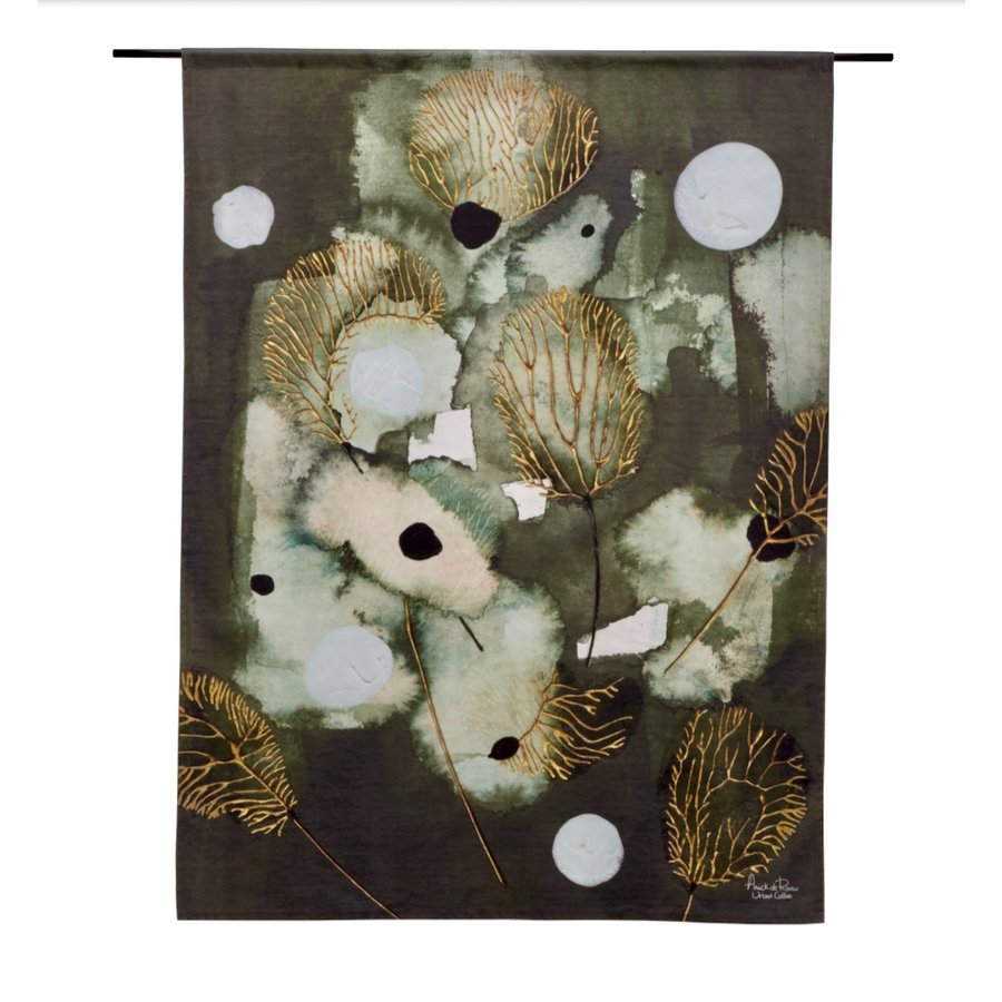 Wandkleed Forest Flowers-1