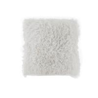thumb-Kussen Fluffy wit 45 x 45 cm-1