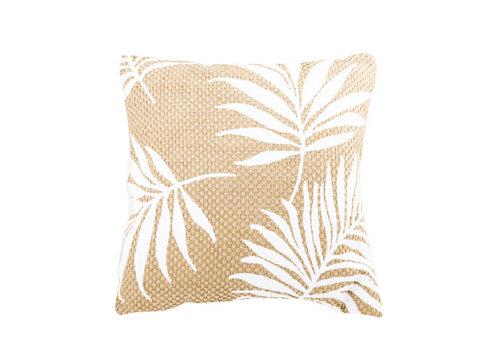 Kussen White Palm