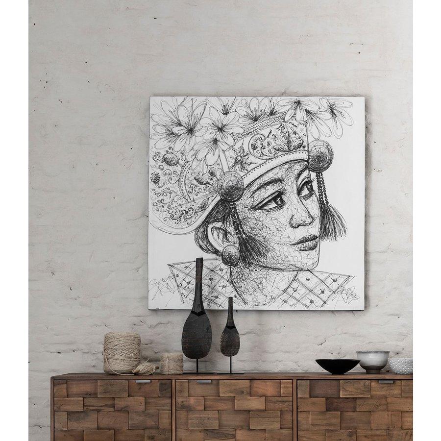 Must Living Wall Art Balinese Girl-3