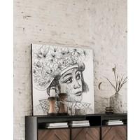 thumb-Must Living Wall Art Balinese Girl-5