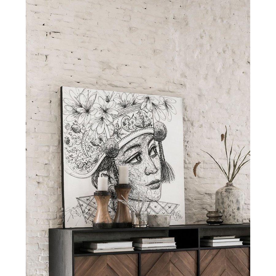 Must Living Wall Art Balinese Girl-5