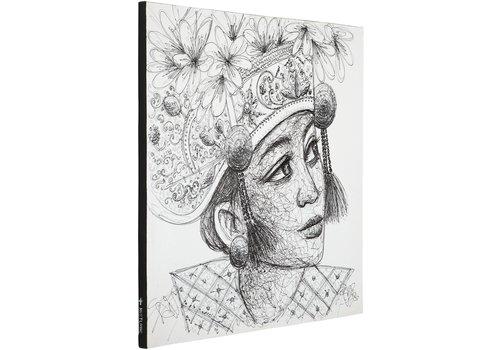 Canvas doek  Balinese Girl