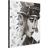 Canvas doek  Balinese Girl  Ketut