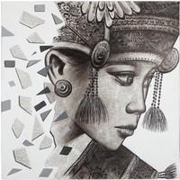 thumb-Must Living Wall Art Balinese Girl Ketut-2