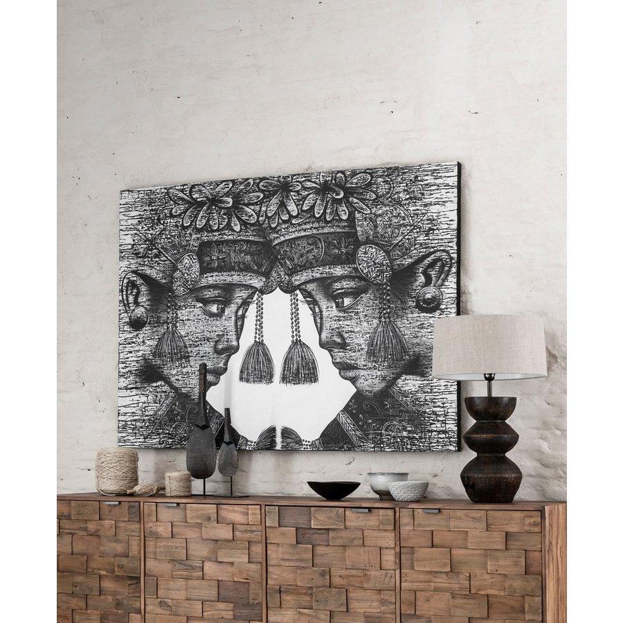 Must Living Wall Art Balinese Tweeling-4