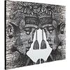 Canvas doek  Balinese Tweeling
