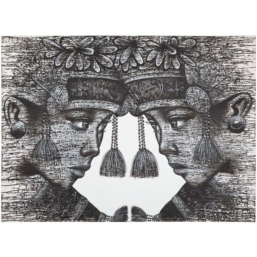 Must Living Wall Art Balinese Tweeling-2
