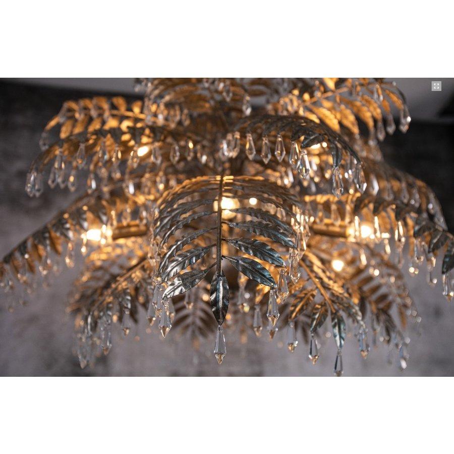 Hanglamp Bellagio rond in ambachtelijk zilver-7