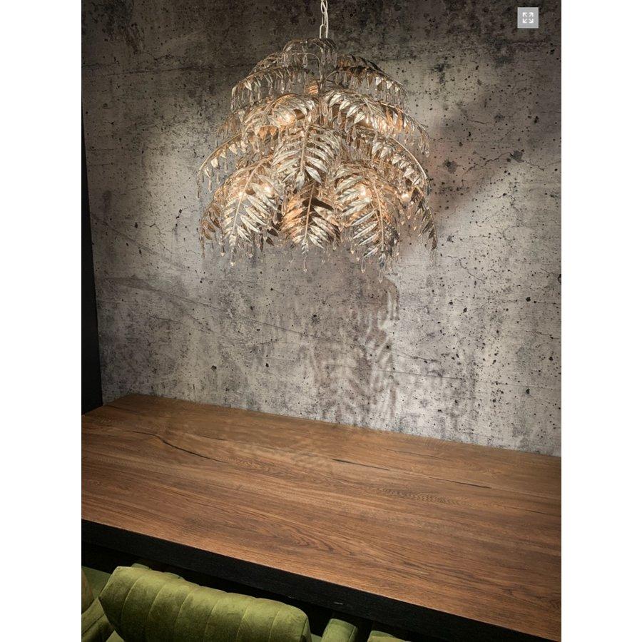 Hanglamp Bellagio rond in ambachtelijk zilver-8