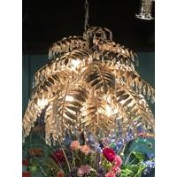 thumb-Hanglamp Bellagio rond in ambachtelijk zilver-4