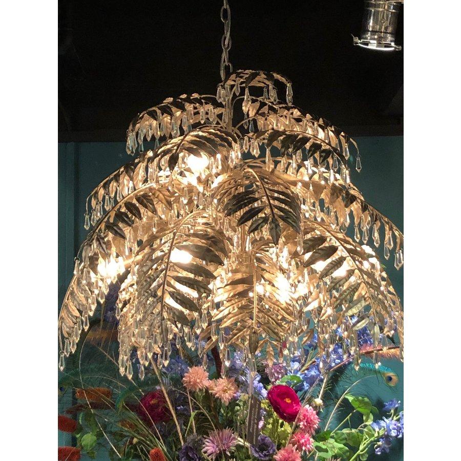 Hanglamp Bellagio rond in ambachtelijk zilver-4