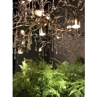 thumb-Hanglamp COMO rond 80 cm in bladzilver of brons-6