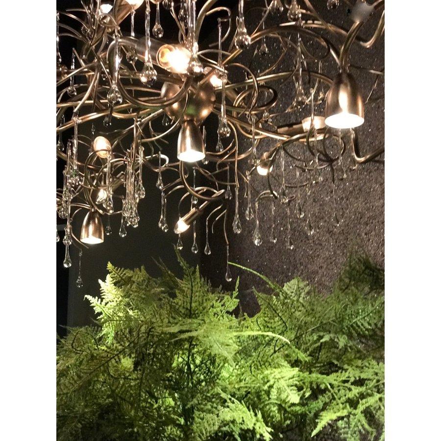 Hanglamp COMO rond 80 cm in bladzilver of brons-6
