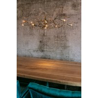 thumb-Hanglamp COMO rond 80 cm in bladzilver of brons-5