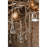 thumb-Hanglamp COMO rond 80 cm in bladzilver of brons-4