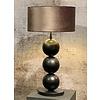 Leclercq & Bouwman Tafellamp Boss met drie bollen