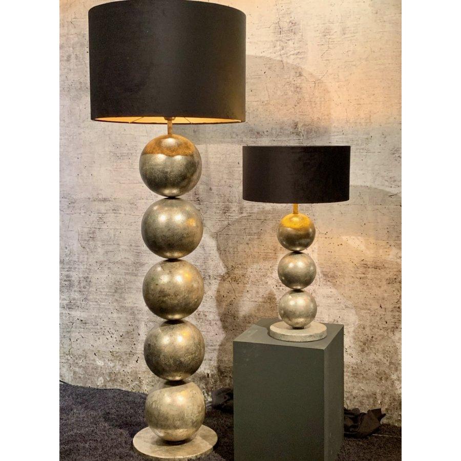 Vloerlamp Boss met vijf bollen metaal-5