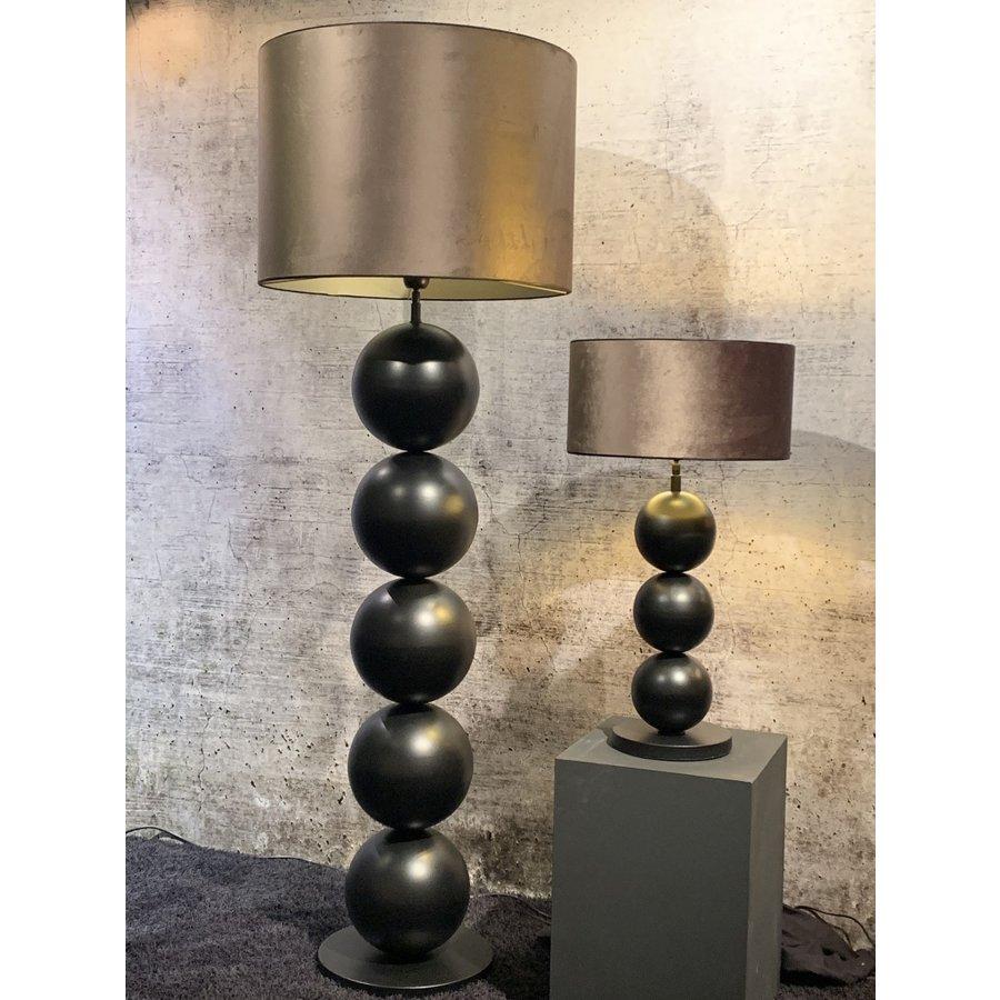 Vloerlamp Boss met vijf bollen metaal-6