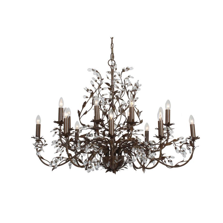 Hanglamp Elegance ovaal 120x70 cm 16-lichts-2