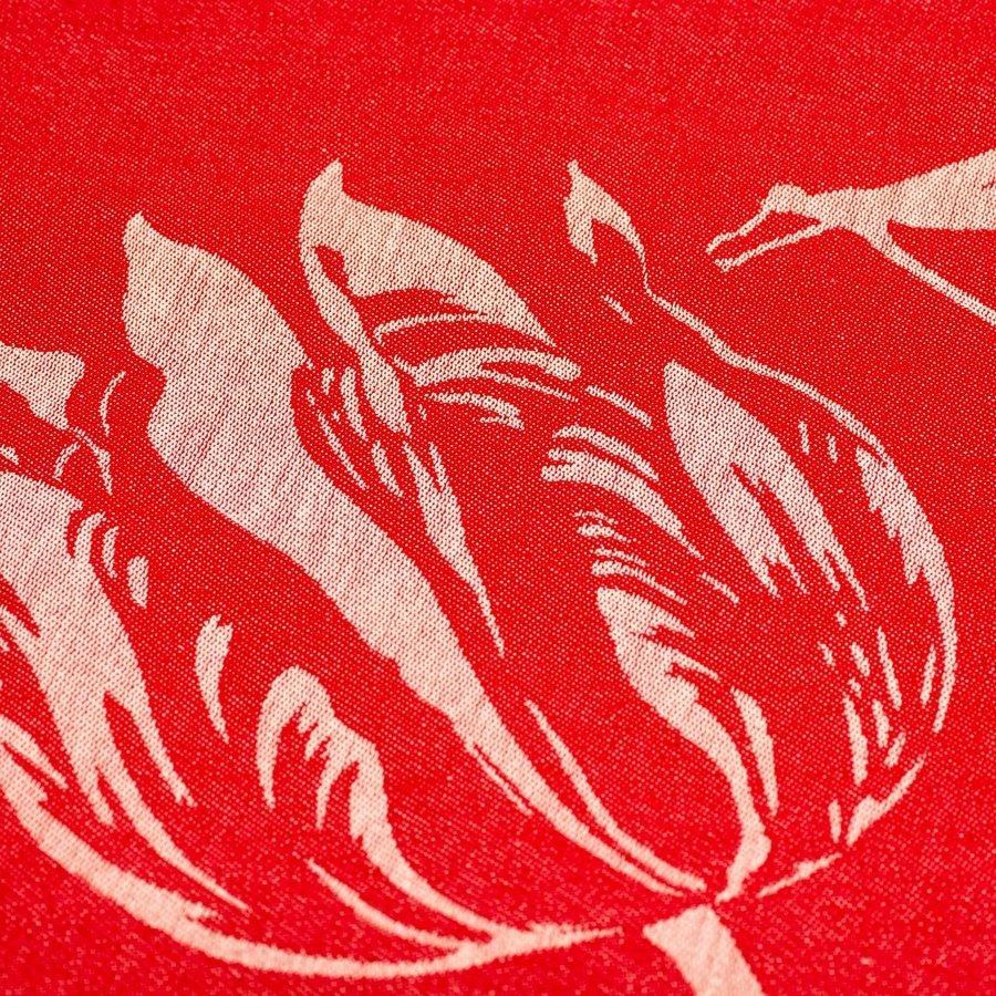 Theedoek Tulips Rood-3