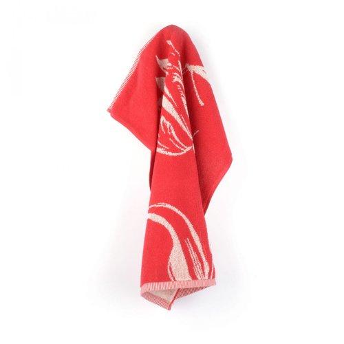 Handdoek Tulips Rood