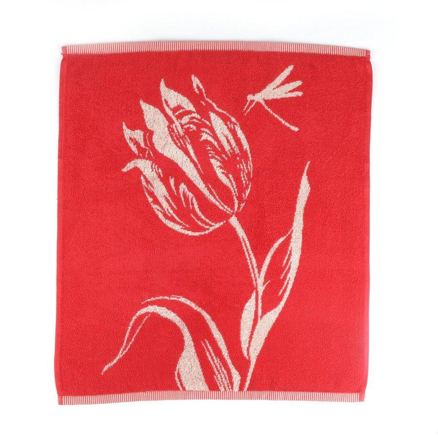 Handdoek Tulips Rood-2