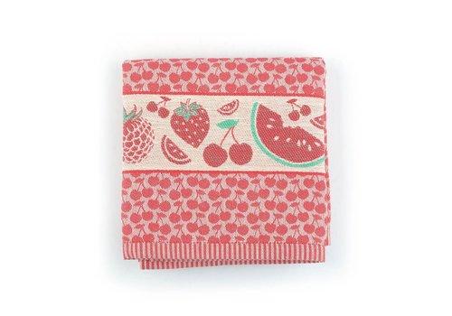 Keukendoek Fruit Rood