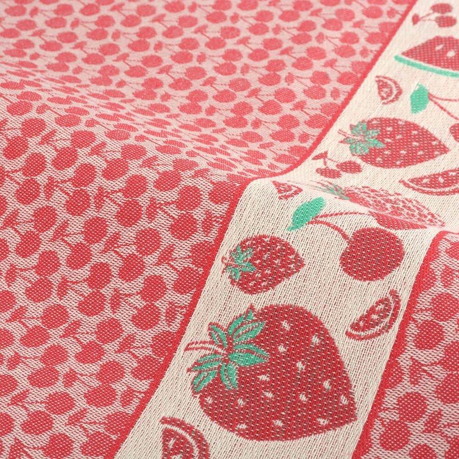 Keukendoek Fruit Rood-2