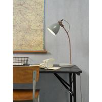 thumb-Tafellamp Denver in zwart of lichtgrijs-4