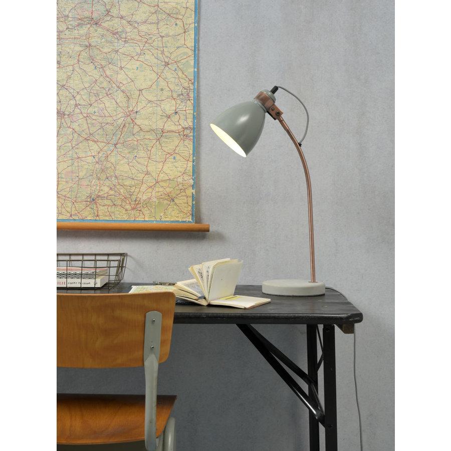 Tafellamp Denver in zwart of lichtgrijs-4