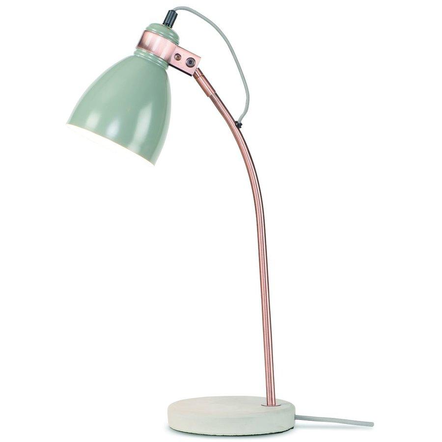 Tafellamp Denver in zwart of lichtgrijs-2