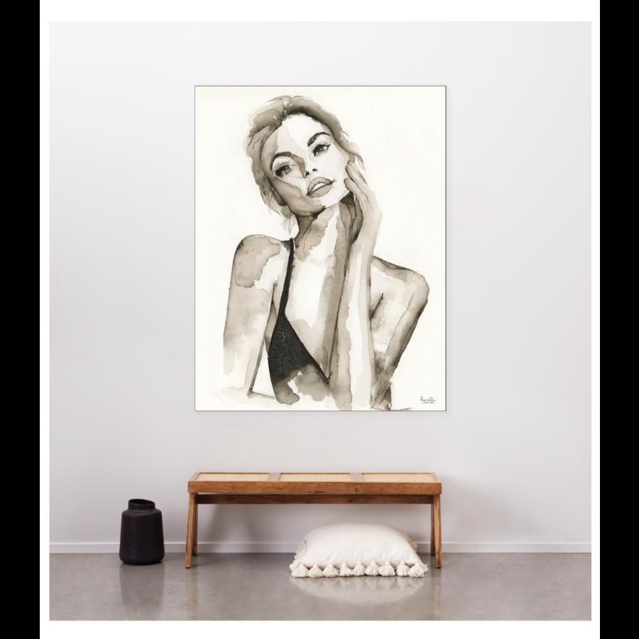 Urban Cotton Wandkleed A Womans Face-3
