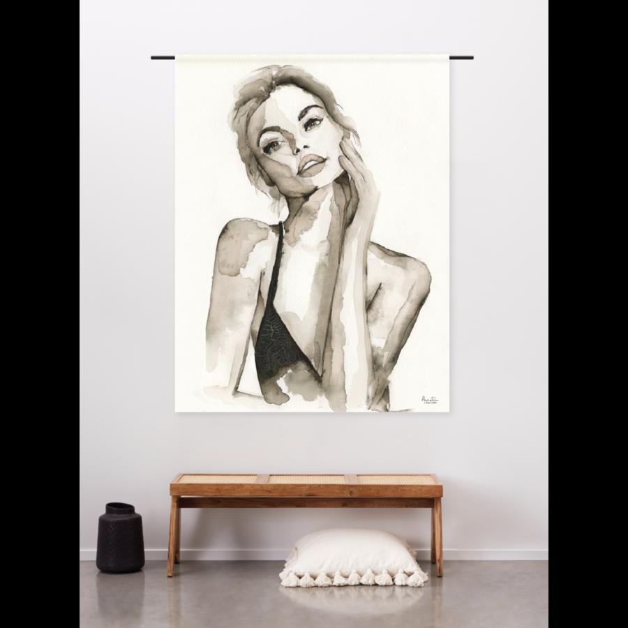 Urban Cotton Wandkleed A Womans Face-2
