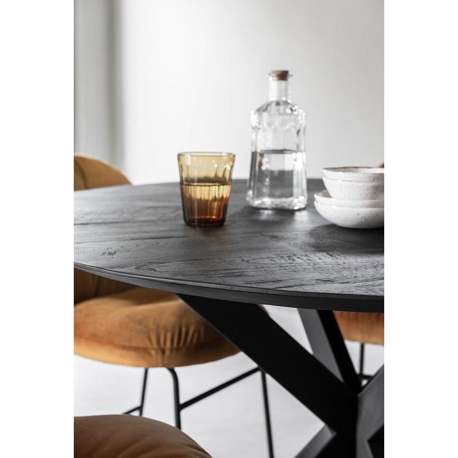 Eettafel Timeless Black Shape rond, 2 maten-4